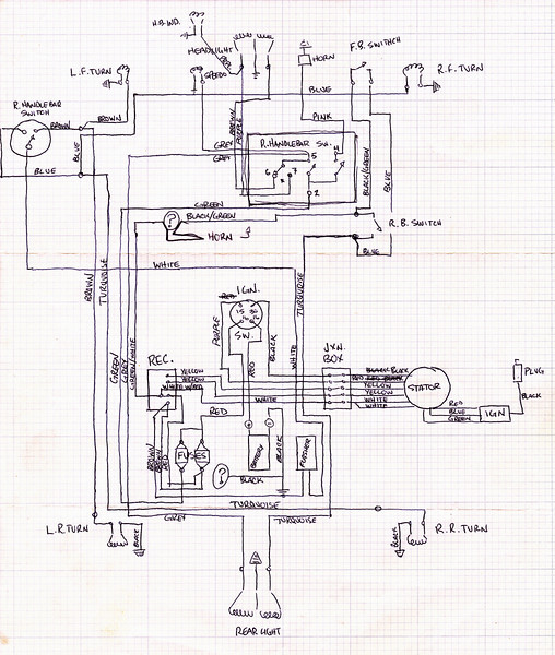 Vespa – Ignition Wiring Diagram 50cc Fiddle